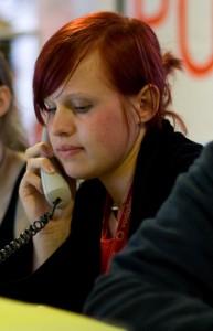 ISWI Organizer phoning