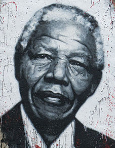Mandela painted at the DDC_Courtesy of Organ Museum