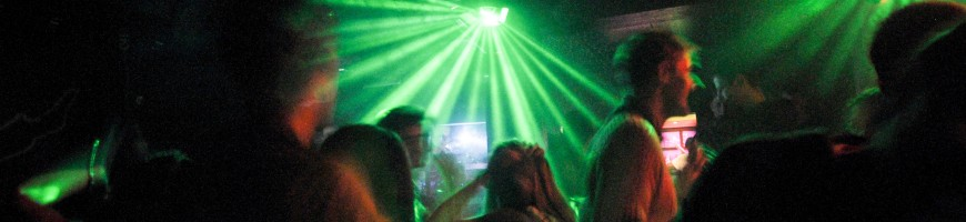 Party at the Ilmenau student clubs