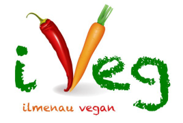 Logo of iVeg (Ilmenau vegan)