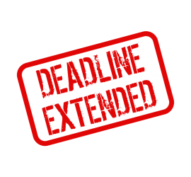 Deadline Extended to 31st January 2015