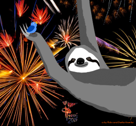 Happy new year! (photo by Charles Knowles/flickr.com, graphics by ISWIeV)